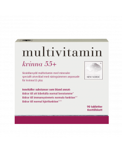 Multivitamin kvinnor 55+