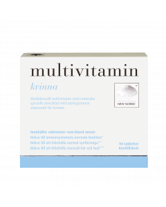 Multivitamin kvinnor