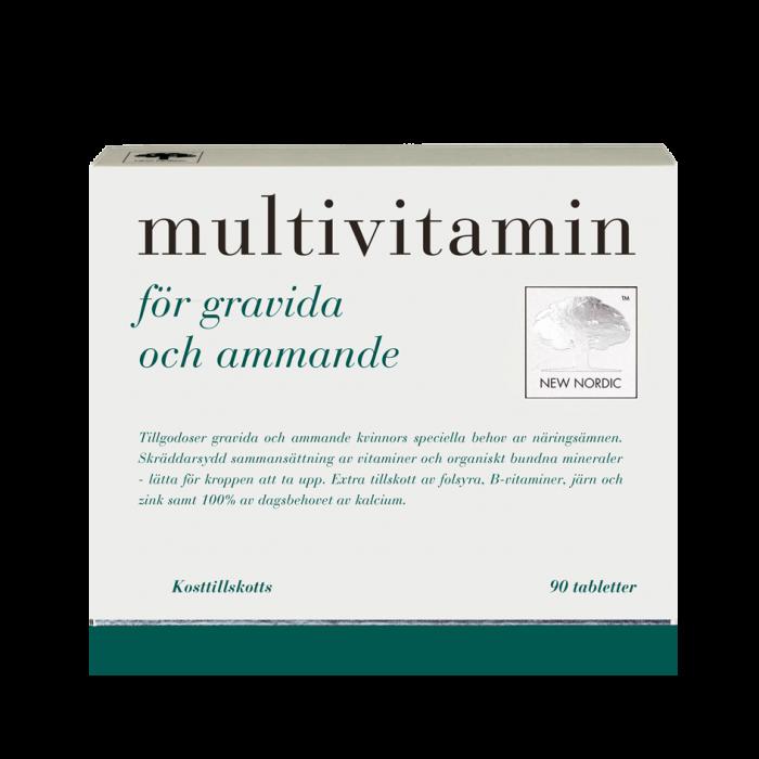 vitaminer vid amning
